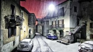 neige dans une rue - labo su skieur