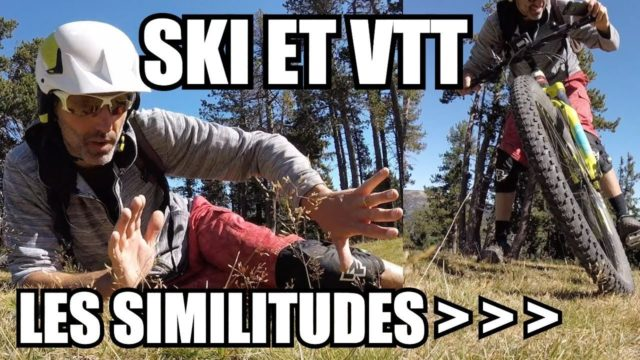 Vlog 004 - reflexions - SKI et VTT - les SIMILITUDES - labo du skieur - morgan petitniot